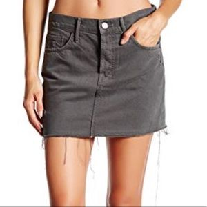 MOTHER Skirts - MOTHER DENIM - Vagabond Fray Mini , size 28